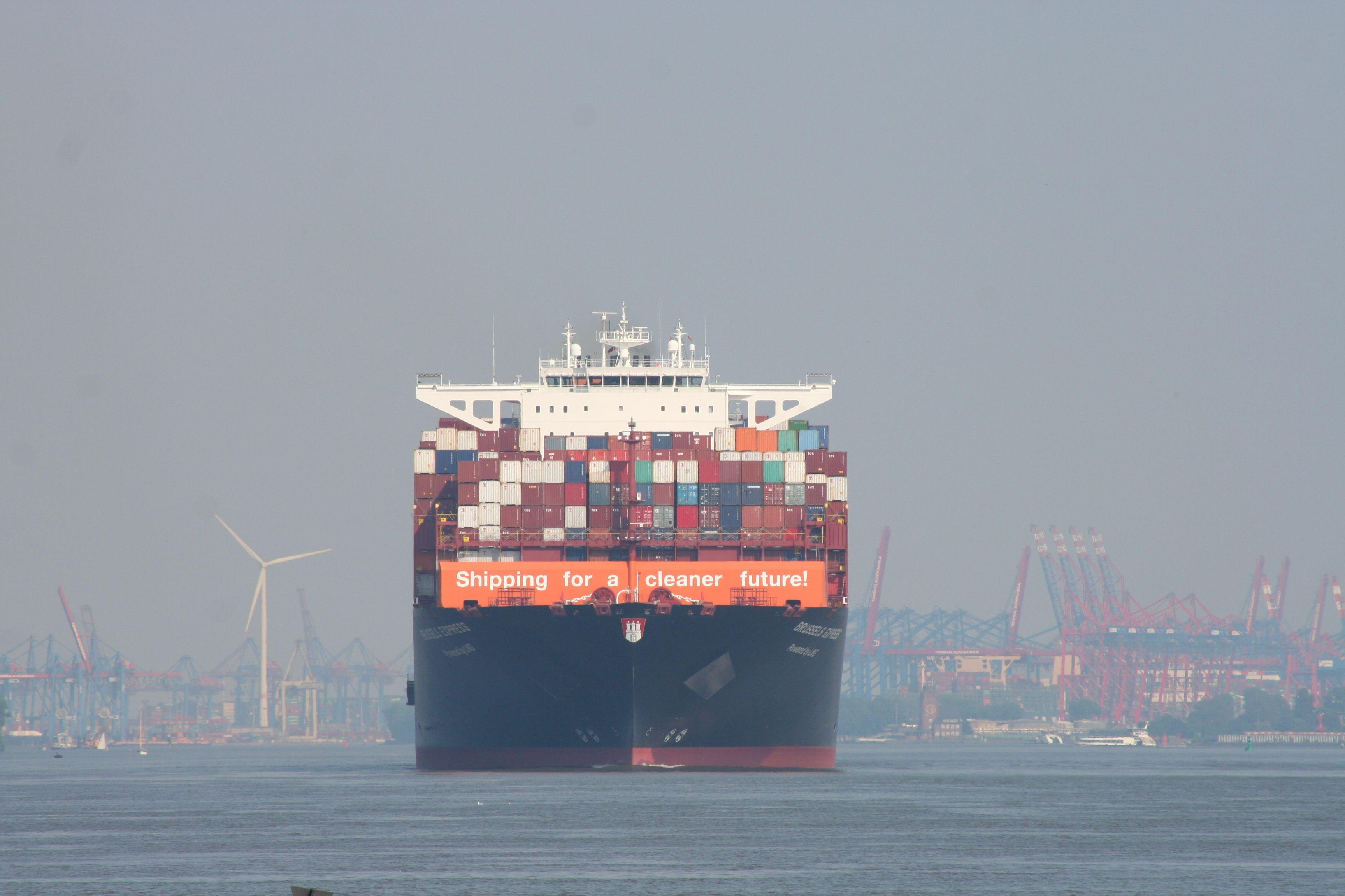 Hapag Lloyds Brussels Express (IMO 9708784)