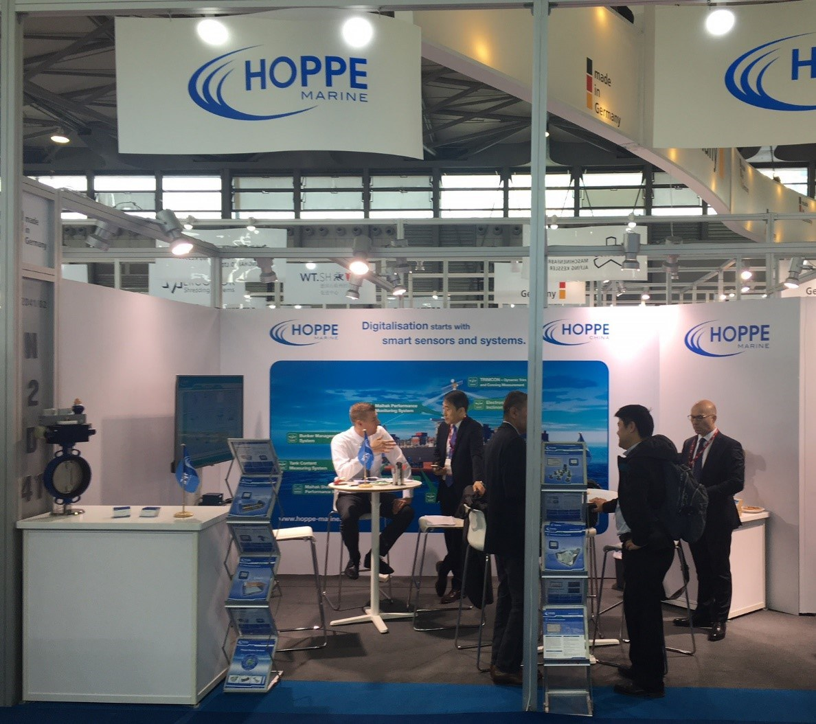 Hoppe Marine on MARINTEC China 2017
